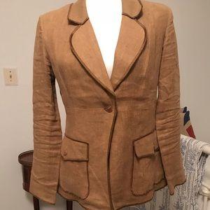 Lovely vintage linen blazer